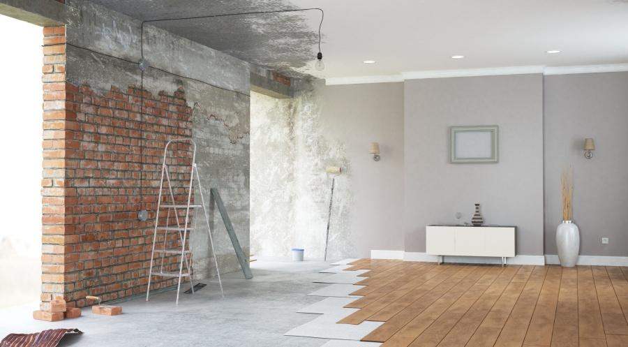 Renovation,Interior.,3d,Render
